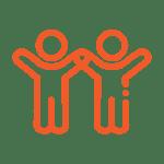 Alcumus_Icons__Two people - Orange-1
